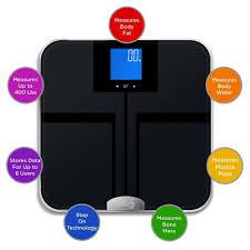 Eatsmart Digital Bathroom Scale by Eatsmart Precision Getfit Digital Body Fat Scale W Auto