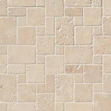 Versailles Tile Pattern Travertine by Durango Cream Versailles Tumbled In 12x12 Stone Backsplash Tile
