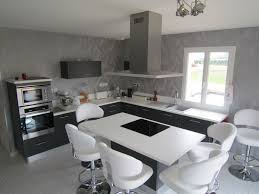 cuisines grises cuisines blanches et grises cool tendance cuisine exemples avec la