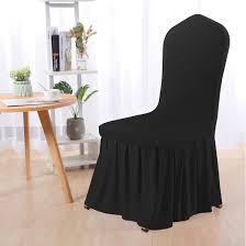 Stretch Spandex Round Top Dining Room Chair Covers Long Ruffled Skirt  Slipcovers For Shorty Chair Seat Covers Black 1pc Uxcell Stretch Spandex Round Top Ding Room Chair Covers Long Ruffled Skirt Slipcovers For Shorty Seat Dark Yellow 1pc How To Make Ding Chair Slipcovers Tie On With Ruffpleated Skirt Kitchen Covers Sale Flowers Kitchen Us 418 45 Offsolid Cover Elastic Seats Slipcover Removable Washable For Wedding Banquet Hotel Partyin Mrsapocom Bm Antidirty Decor A Hgtv Best Parson Chairs Create Awesome Home Stretchy Thicken Plush Short Protector Beautiful Linen 4 Sided Ruffle Large Off White Dcor
