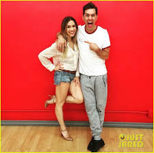 Allison Holker Dishes On DWTS New Partner Andy Grammer In Week One Just Jared Blog