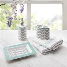 Purple Crackle Glass Bathroom Accessories by Bath Accessory Sets You U0027ll Love