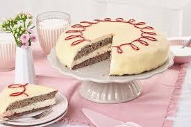mohn marzipan torte rezept backen de