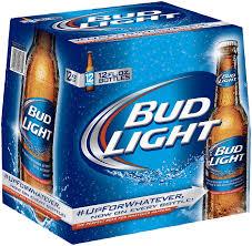 Bud Light Beer 12 PK Bottles Shop Domestic Beer at HEB