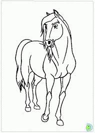 Spirit Coloring Pages Stallion Of The Cimarron Rain316512