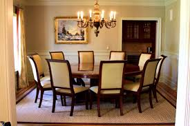 Rustic Country Dining Room Ideas by Furniture Scenic Seater Oak Dining Table Also Kind Rooms Fancy