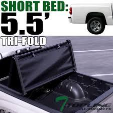 100 Vinyl Truck Bed Cover Topline 746756377170 Tri Fold Soft Tonneau