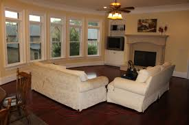 Narrow Living Room Layout With Fireplace by Where To Put The Tv When You Have A Fireplace Furniture