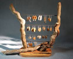Driftwood Earring Stand For My Shop
