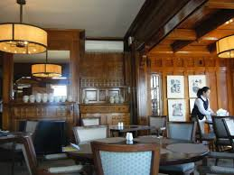 The Dining Room At Castle Hill Inn Stunning Woodwork