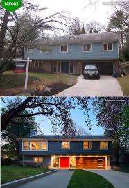 This Home Was Transformed From A Split-foyer Into A Colonial, By ... The Split Level House Plans Design Laluz Nyc Home Jll Design What To Do With Your Ranch 53 Best Ideas For Multi Homes Images On Pinterest Splendid Ranch House Curb Appeal Swing Screen Door Over The Renovation For Interesting Cabin Stunning Square Pillar Gallery Decorating Front Porch Split Level Home Google Search Front Porch Designs A How To Build Adding Garrison Colonial Cost Modern Raised Open Floor Entryway Addition Designs Elevation Can Be Altered Bilevel Exterior Remodeling Bilevel Makeover Decks Vs Gradelevel Hgtv