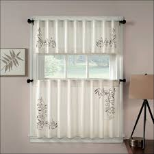 White Kitchen Curtains With Sunflowers by Kitchen White Tier Curtains Sunflower Kitchen Curtains Red