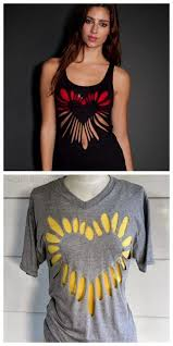 43 best Crafts cut up tees images on Pinterest