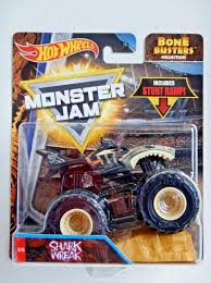 SHARK WREAK MONSTER Jam Truck (Bone Busters)(Hot Wheels)(2017)(Stunt ... Pictures Of Monster Trucks Save First Female Cadian Truck 2011 Jam Series Hot Wheels Wiki Fandom Powered By Wikia Shark Shock Diecast Vehicle 124 Scale Sonuva Digger Vs Wreak Carro Attack Road Rippers Youtube Remote Control Wwwtopsimagescom 164 2pack Vs Amazoncouk 2002 Original Grave With Pinewood Derby Car Wooden Thing