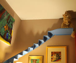 cat stairs curved cat stairs for your living room 4 steps with pictures