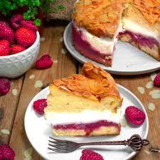rhabarber erdbeer topfentorte milchfrei kitchenfae