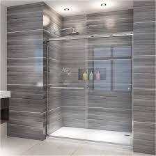 100 Sliding Exterior Walls Hot Item Shower Door Bathroom 6 Mm Easy Clean Glass Shower Enclosure Cubicle Door Door Handle For Hanging Towels And Clothes
