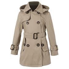amazon com richie house girls u0027 classic hooded trenchcoat sizes 4