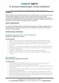 Business Analyst Resume Format Analyst Resume Example Jr Business