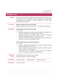 Communication Graduate CV - CTgoodjobs Powered By Career Times Simple Resume Template For Fresh Graduate Linkvnet Sample For An Entrylevel Civil Engineer Monstercom 14 Reasons This Is A Perfect Recent College Topresume Professional Biotechnology Templates To Showcase Your Resume Fresh Graduates It Professional Jobsdb Hong Kong 10 Samples Database Factors That Make It Excellent Marketing Velvet Jobs Nurse In The Philippines Valid 8 Cv Sample Graduate Doc Theorynpractice Format Twopage Examples And Tips Oracle Rumes