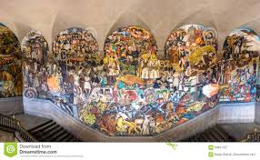 Famous Mexican Mural Artists by The Stairs Of National Palace With The Famous Mural The History Of