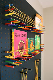 Easy DIY Pegboard Your Kids Can Create Art On