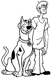 Free To Download Scooby Doo Coloring Pages 74 For Books With