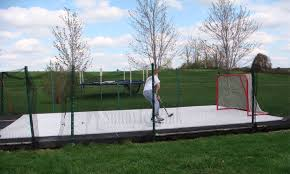 Residential Synthetic Ice Rinks