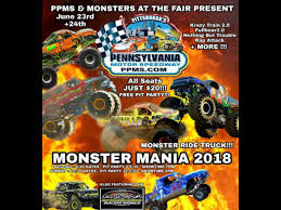 Monster Mania 2018 Monster Truck Show - SUNDAY At Pittsburgh's Pa ...