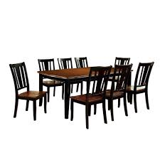 Sun & Pine 9pc Curved Edge Dining Table Set Wood/Cherry And ... Coaster Boyer 5pc Counter Height Ding Set In Black Cherry 102098s Stanley Fniture Arrowback Chairs Of 2 Antique Room Set Wood Leather 1957 104323 1perfectchoice Simple Relax 1perfectchoice 5 Pcs Country How To Refinish A Table Hgtv Kitchen Design Transitional Sideboard Definition Dover And Style Brown Sets New Extraordinary Dark Wooden Grey Impressive And For Home Better Homes Gardens Parsons Tufted Chair Multiple Colors