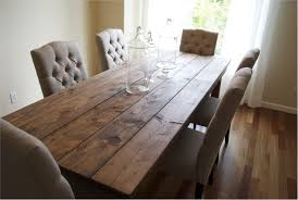 Magnificent Ana White Farmhouse Table Rustic Diy Projects Modern Dining Set