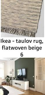 ikea taulov rug flatwoven beige 6 flat woven rug rugs