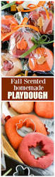 Pumpkin Spice Jello Playdough by Fall Scented Homemade Playdough The Who Ate Everything