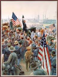 The Glorious Fourth Mort Kuntslers Painting Of Victory At Vicksburg