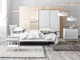 Ikea Trysil Chest Of Drawers by Trysil Sovrumsserie Ikea Driftwood Floor Raw Birch White Grey