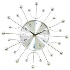 White Modern Wall Clock