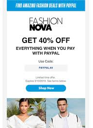 Fashion Nova 40% Off When You Pay With PayPal And Use The Code ... Fashion Nova Instagram Shop Patterns Flows Fashion Nova Kiara How To Use Promo Code Free 100 Snapdeal Promo Codes Coupons 80 Off Aug 2324 Offers 2019 Get 50 Deals And Coupon Code Youtube Nova Coupons Codes Galaxy S5 Compare Deals 40off Aug This Viral Fashion Site Is Screwing Plussize Women In More Ways 20 Off W Shutterfly August Updated Free Shipping September 2018 Realm Royale Dress Discount Saddha 90