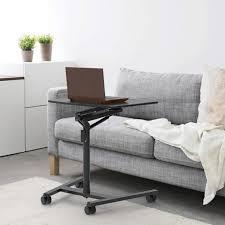 duronic wps37 beamer und projektorwagen für projektoren beamertisch mit rädern ergonomischer laptoptisch mit tablet halterung