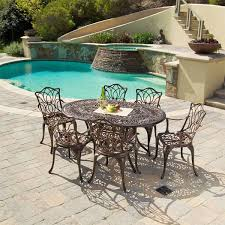 Cast Aluminum Outdoor Sets by 20 Sturdy Sets Of Patio Furniture From Cast Aluminum Home Design