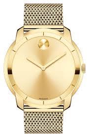 Movado Mini Desk Clock by 14k 18k U0026 24k Gold Movado Watches For Women Nordstrom