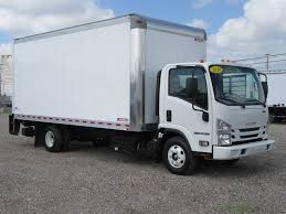 2019 New Isuzu NPR HD (18ft Box Truck With Lift Gate) At Industrial ...