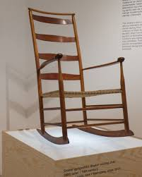 The Shaker Rocking Chair In The Collection At Designmuseum ...