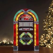 Qvc Christmas Tree Hugger by Mr Christmas 28 In Rock O Rama Christmas Jukebox Christmas
