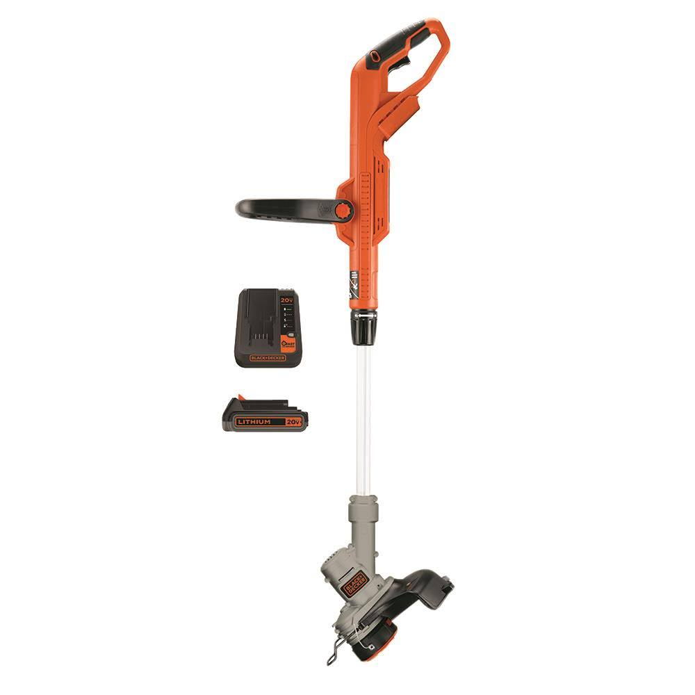 "Black And Decker LST300 Max Lithium Trimmer And Edger - 12"", 20V"