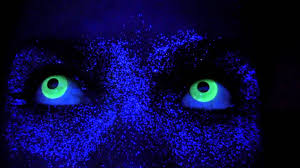 White Halloween Contacts Prescription by Uv Glow Contact Lenses Rave Contacts Youtube