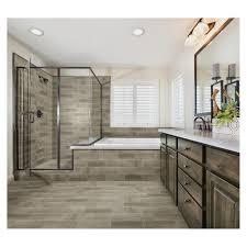 mohawk woodlane 7 x 20 ceramic floor and wall tile at menards