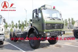 100 Tractor Truck Hot Sale North Benz Military Quality North Benz