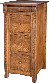 Three Drawer Filing Cabinet Wood by File Cabinets Amish Furniture By Brandenberry Amish Furniture