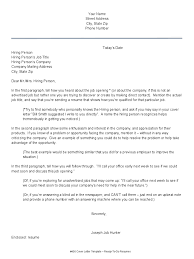 Cover Letter Format And Sample Monstercom