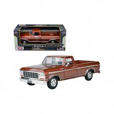 1979 Ford F-150 Pickup Truck Brown 1/24 Diecast Model Car By ... Jada Diecast Metal 124 Scale Just Trucks 1999 Ford F150 Svt Shop Maisto F350 127 Truck With 2004 Flhtpi Cek Harga Welly 19834 F100 Tow 1956 Forrest Amazoncom Beyond The Infinity 0608 1940 Fire Texaco Red Pickup Black 118 Model By Motor Max 73170 New 125 Car By First Dimana Beli M2 Machines 1960 Vw Double Cab John Deere Vintage Industrial Sales Company Decal Hd Harley Davidson 1948 F1 Motorcycle 2001 Xlt Flareside Supercab Off Road White 1 Ford Transit Rac Recovery Truck 176 Scale Model